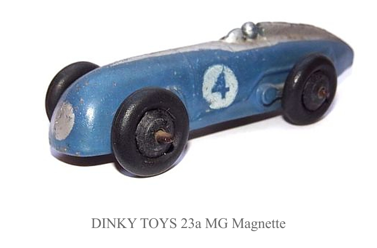 DINKY TOYS 23a MG Magnette2