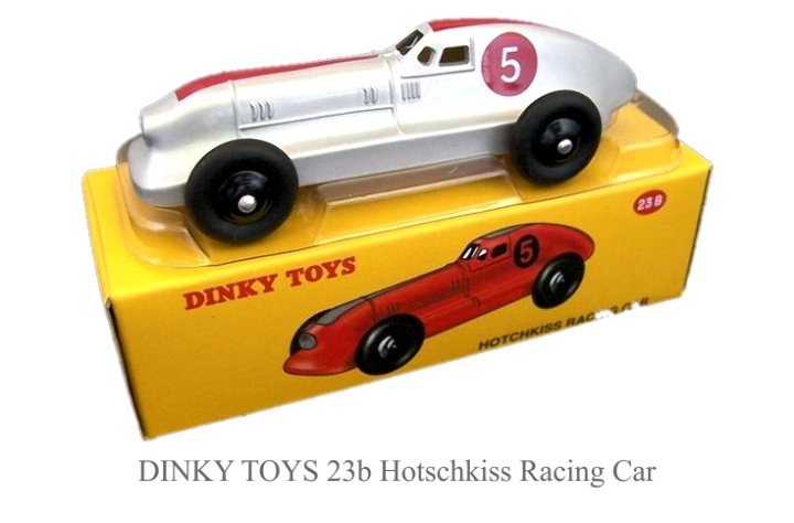 DINKY TOYS 23b Hotschkiss Racing Car