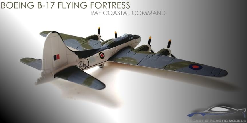 BOEING B-17 RAF FLYINGFORTRESS