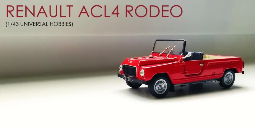 1/43 Renault RODEO1971