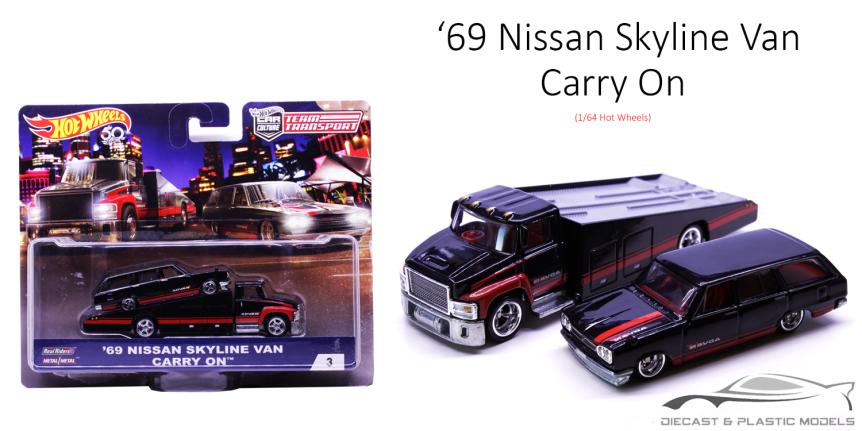 '69 Nissan Skyline Van & CarryOn