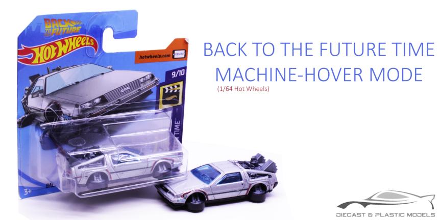 BACK TO THE FUTURE TIME MACHINE HOVERMODE