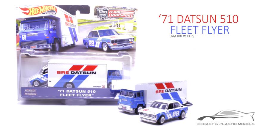 '71 Datsun 510 & FleetFlyer