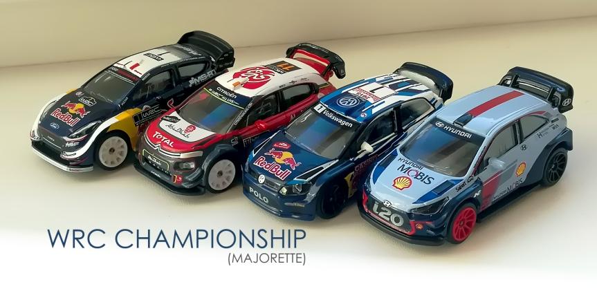 Majorette WRC 2019