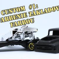 Custom #1: Úvod + striekanie základnej farby