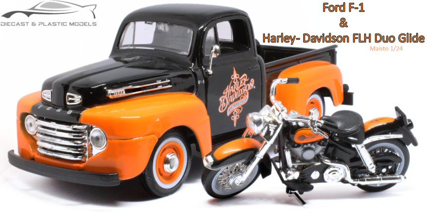 Ford F-1 & Harley-Davidson FLH DuoGlide