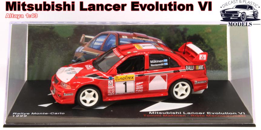 Mitsubishi Lancer EVOVI