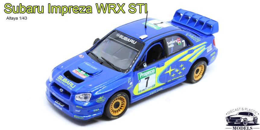 [ENG] Subaru Impreza WRXSTI