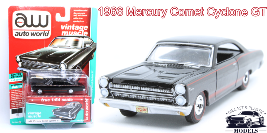 [ENG] 1966 Mercury Comet CycloneGT