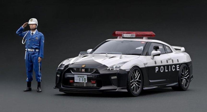 Ignition Model – Nissan GT-R R35Police