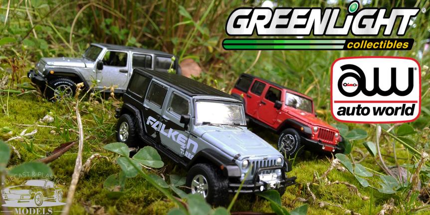 Jeep Wrangler AW vs.GL