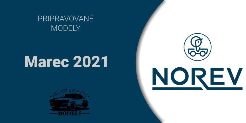 NOVÉ MODELY NOREV3/2021