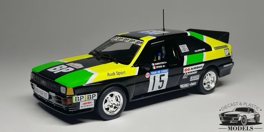 Audi Quattro #15 Tour De Corse1981
