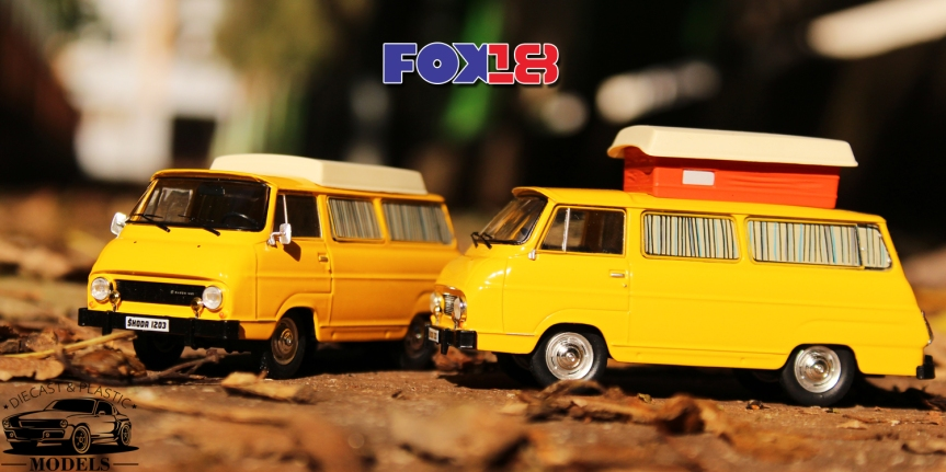 1/43 Škoda 1203 Camping(FOX18)