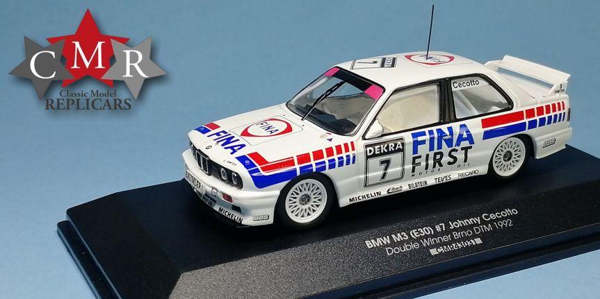 BMW M3 (E30) DTM BRNO 1992 (1/43,CMR)