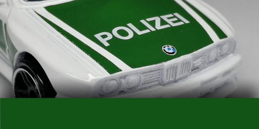 1992 BMW M3 –POLIZEI