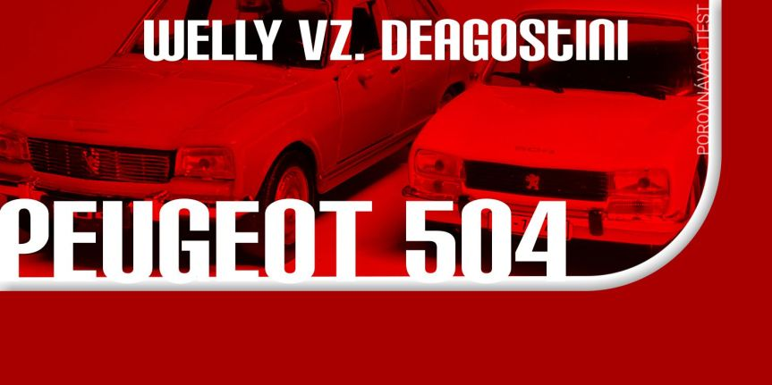 TEST 2xPEUGEOT 504
