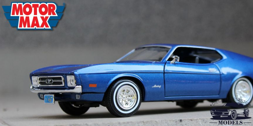 FORD MUSTANG SPORTSROOF 1971 (1/24, MOTOR MAX)
