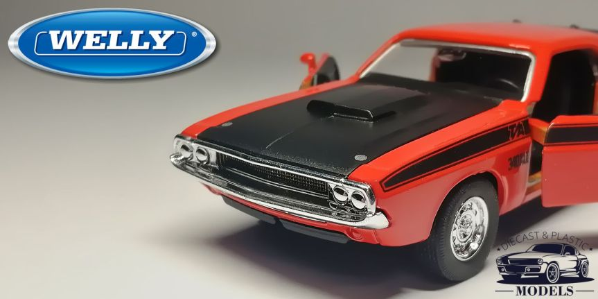 DODGE CHALLENGER T/A 1970 (1/32, WELLY)