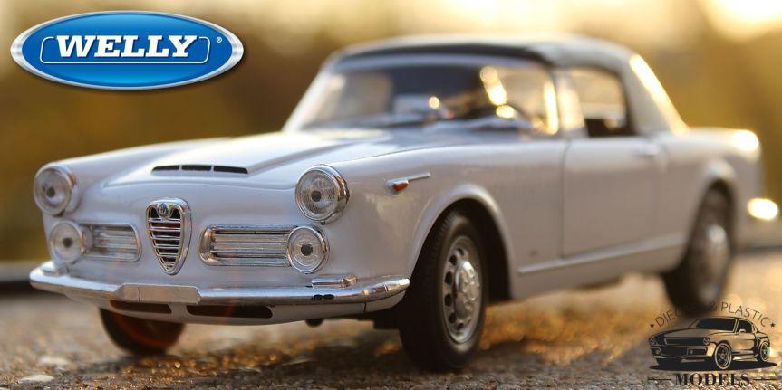 ALFA ROMEO 2600 SPIDER 1960 (1/24,WELLY)