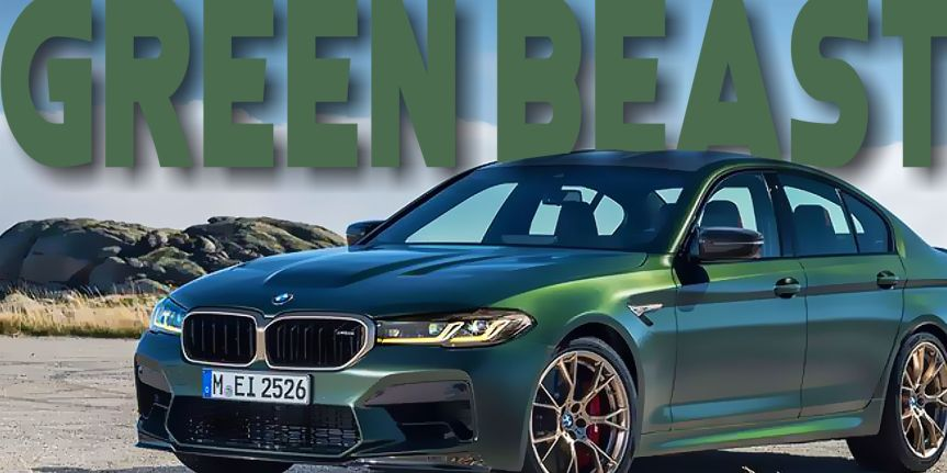 """BMW M5 CS """"GREENBEAST"""""""
