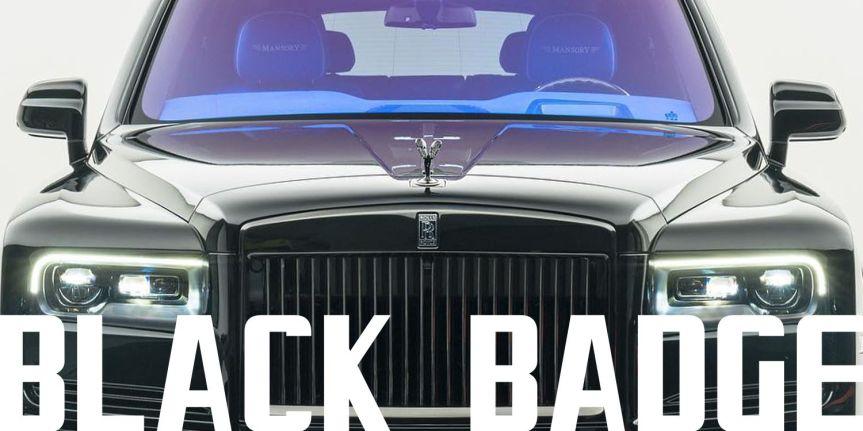 ROLLS-ROYCE CULLINAN BLACKBADGE