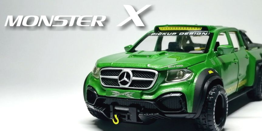 MERCEDES EXY MONSTER X Concept 6×6 (1/32, CHIMEIMODEL)