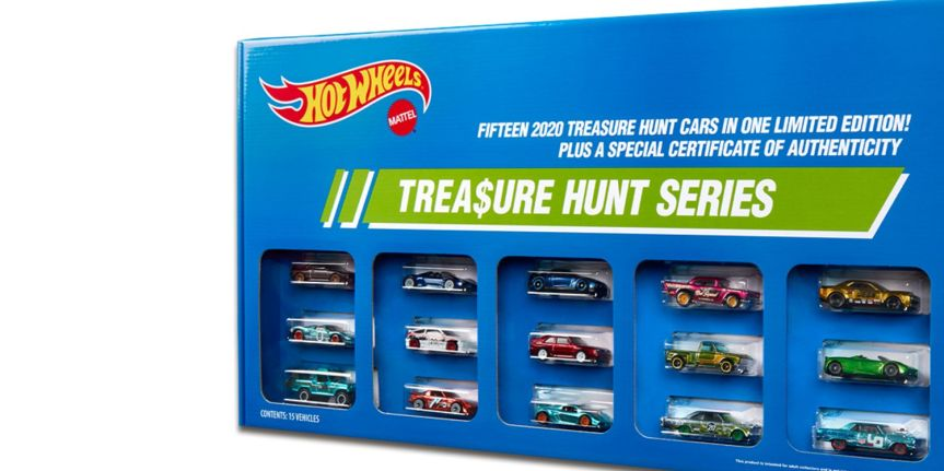 HOT WHEELS SUPER TREASURE HUNT SET!
