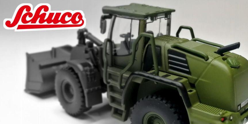 LIEBHERR WHEEL LOADER 550 BW (1/87,SCHUCO)