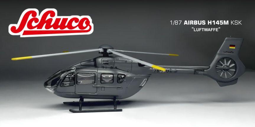 """AIRBUS H145M """"KSK – LUFTWAFFE"""" (1/87,SCHUCO)"""
