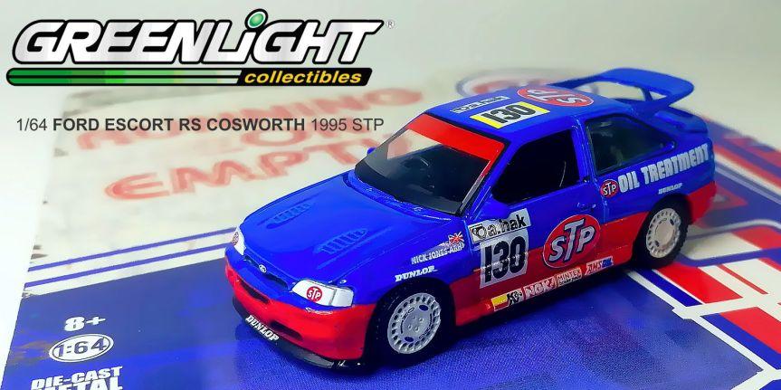 1995 FORD ESCORT RS COSWORTH STP (1/64,GREENLIGHT)
